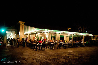 Cafe Du Monde on our first night.