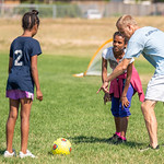 Soccer Without Borders Summer Camp in Greeley, Colorado on July 17, 2018.  Photo Credit: Al Milligan-KLC fotos