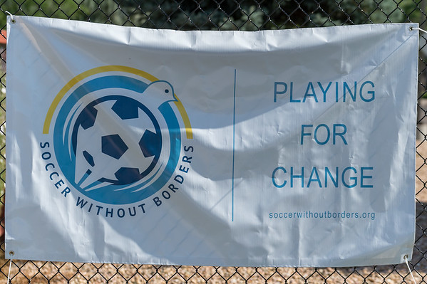 Week two of the Soccer Without Borders  Kids Summer Soccer Camp at Salida Del Sol Academy in Greeley, Colorado on July 19, 2017.