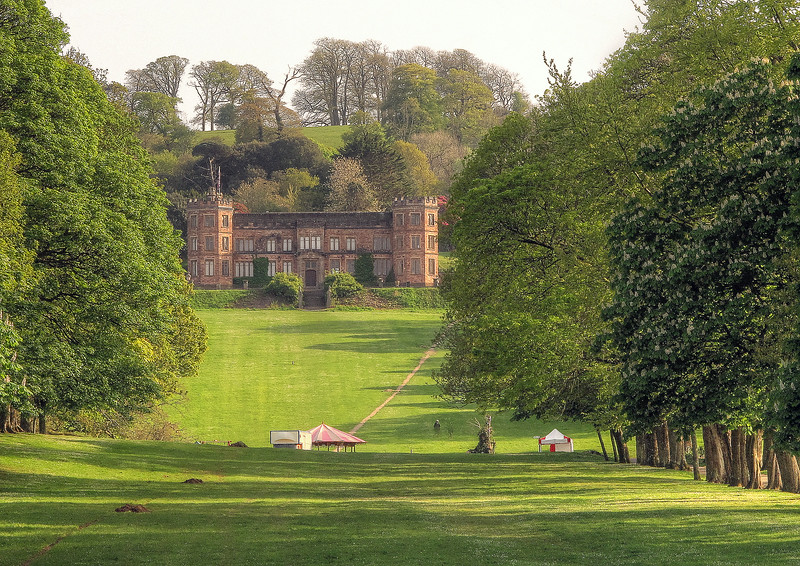 Edgcumbe House, host during this weekend of the Green Man country crafts event.