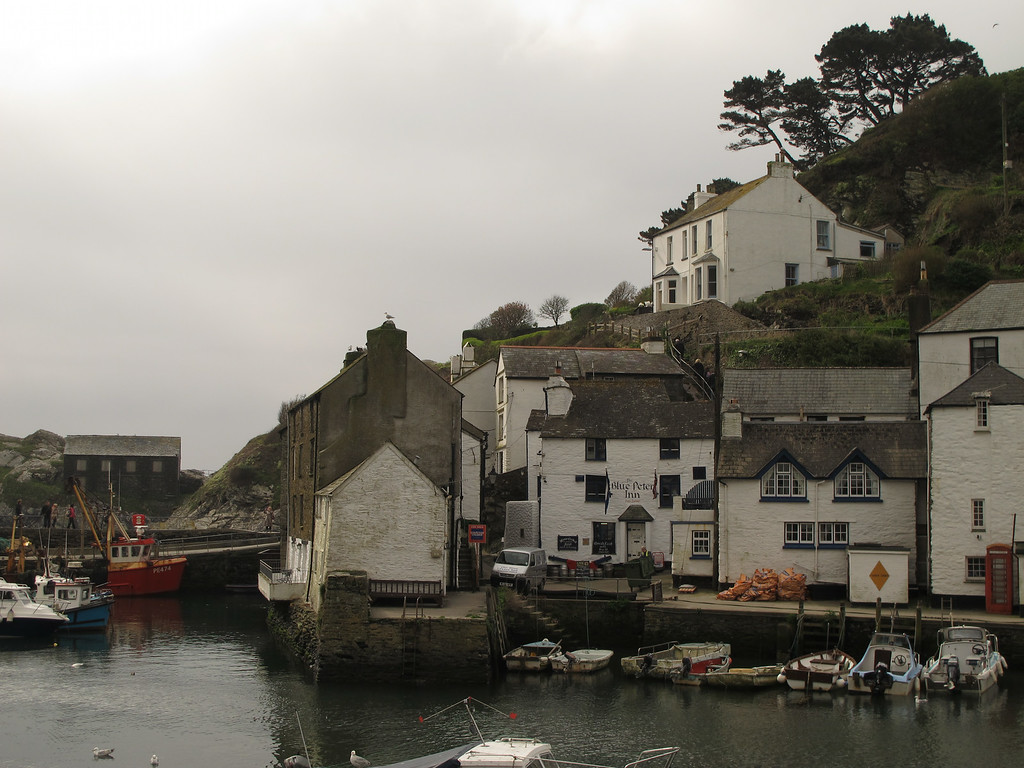 If you want a good pub in Polperro you couldn't do better than the Blue Peter Inn.