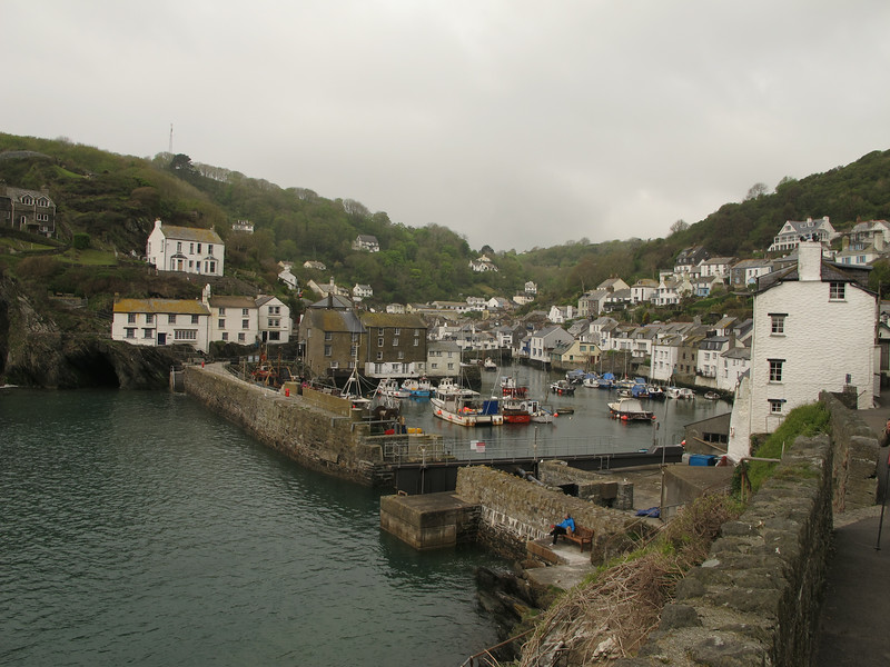 Polperro looking a bit misty in the morning.