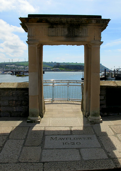 "As it says on the tin, ""Mayflower Steps"""