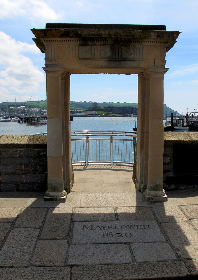 """As it says on the tin, """"Mayflower Steps"""""""