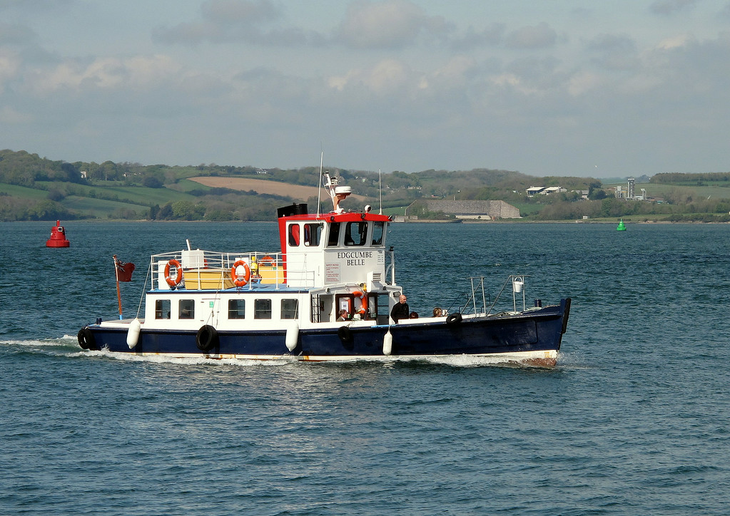 The ferry from Cremyl to Plymouth.