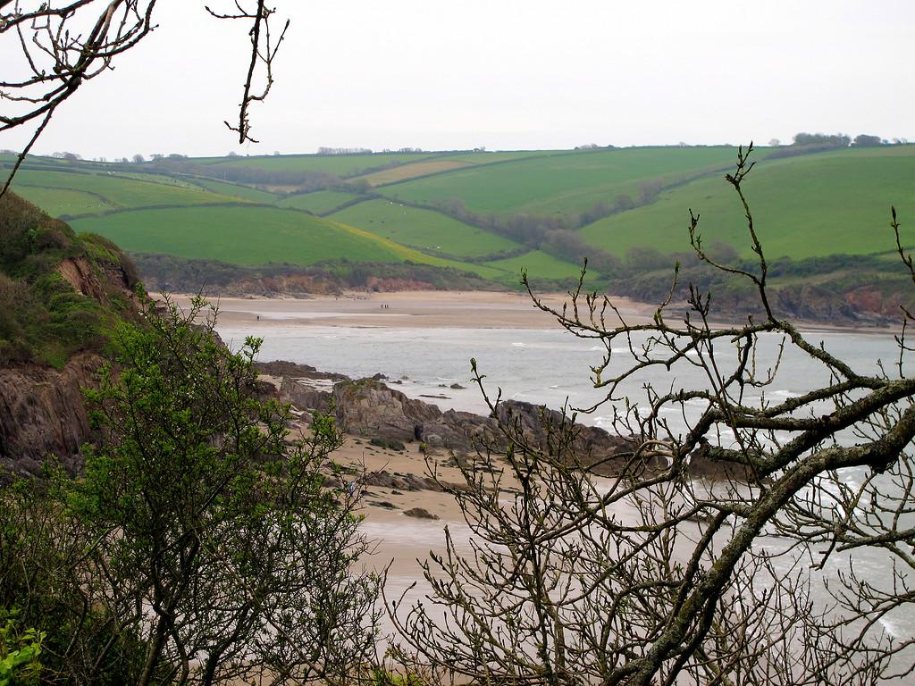 The Erme Estuary.