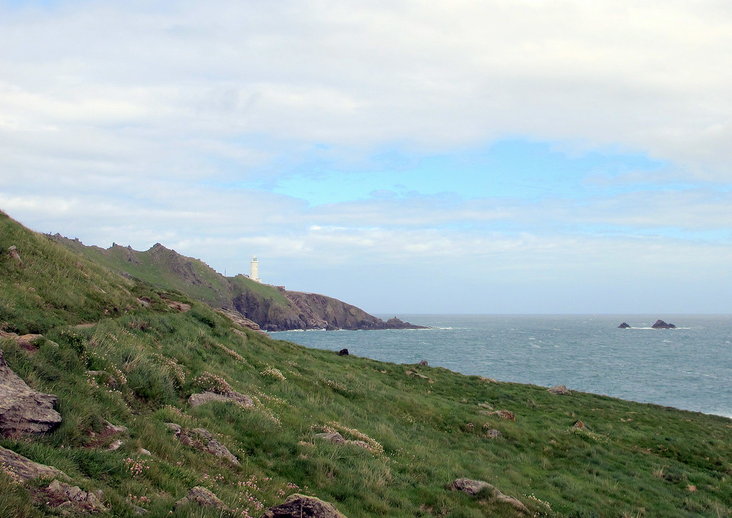 The lighthouse at Start Point.
