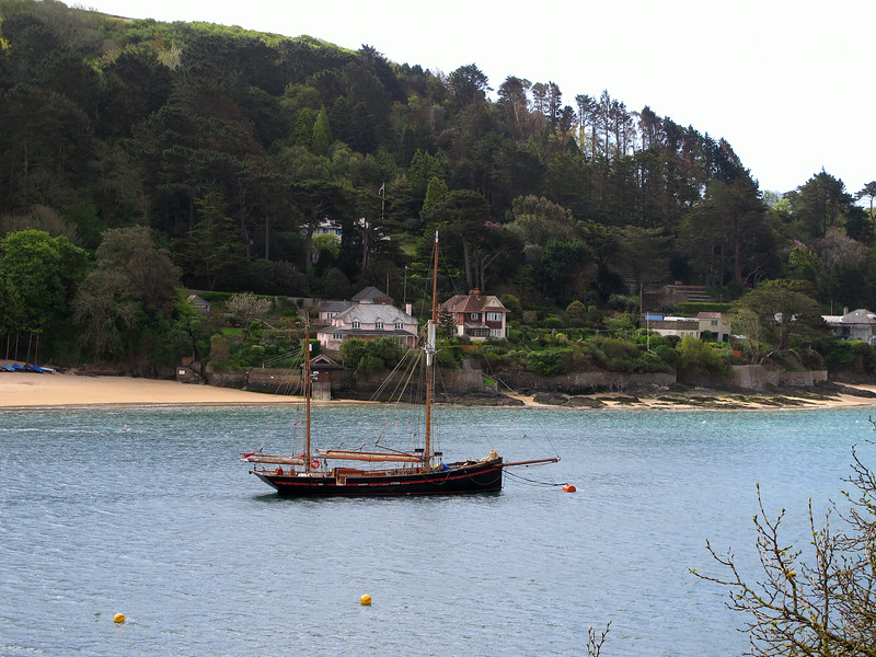 This lovely old boat was moored near the ferry across to East Portlemouth.
