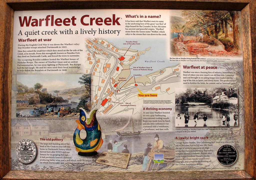 All about Warfleet Creek, Dartmouth.