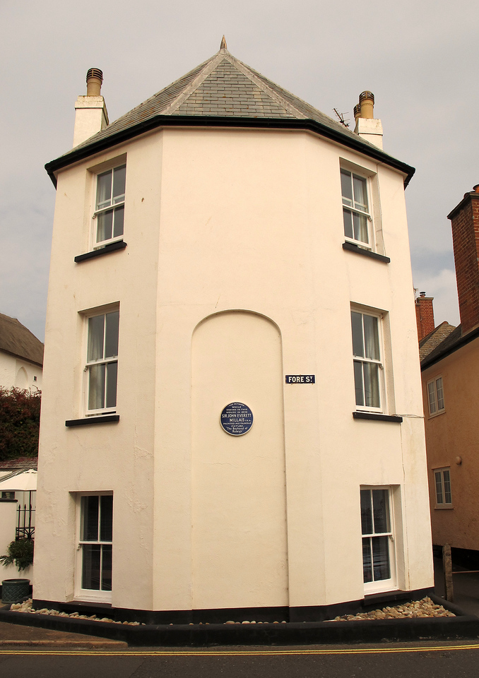 The Octagon house, Fore Street,  Budleigh Salterton.