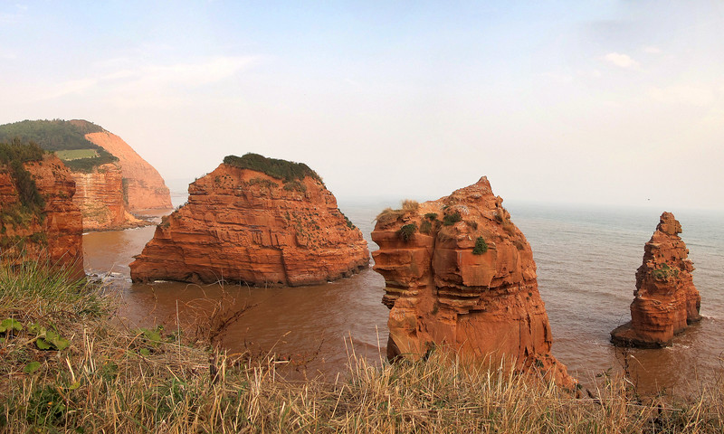 Ladram Rocks.