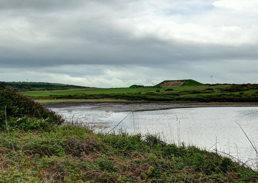 The firing range at Chickerell.