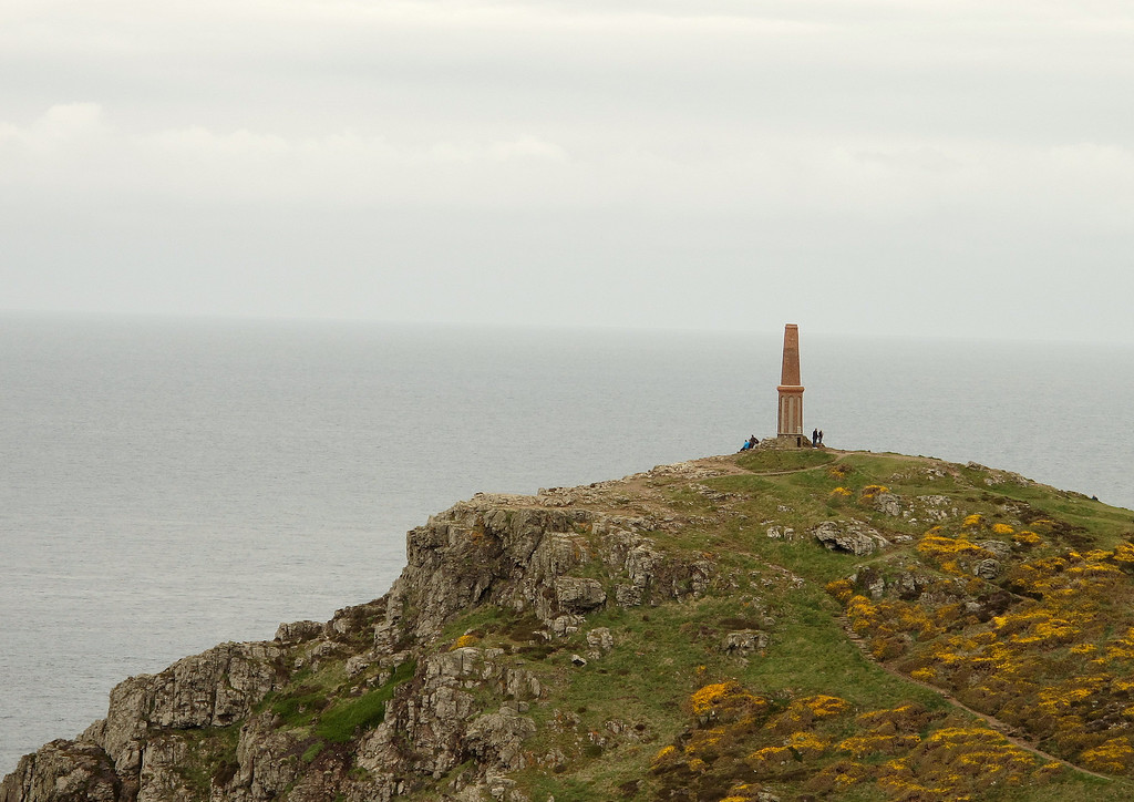 Cape Cornwall and the Heinz Monument.
