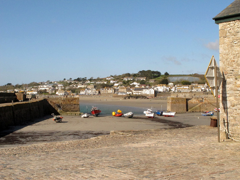 The harbour at St Michaels Mount.