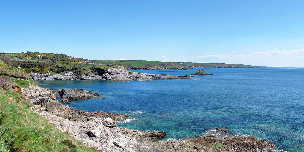 Trevean Cove, Stackhouse Cove and Cudden Point.