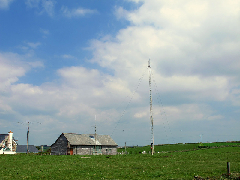 The site of Marconi's first transmissions across the Atlantic.