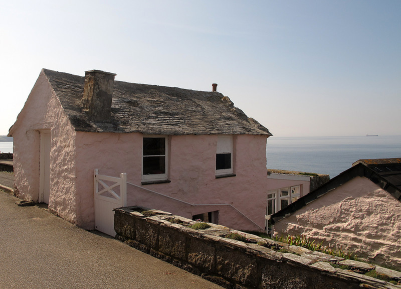 An old fisherman's cottage in Porthleven now used as a holiday let.
