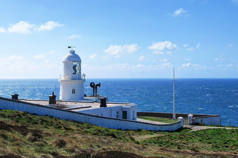 The lighthouse at Pendeen Watch.