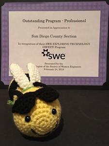 WELocal 2018 - Phoenix, AZ - Outstanding Program Award for SWEET