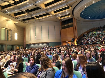Full House at WE18: Day 2 Keynote, October 19, 2018