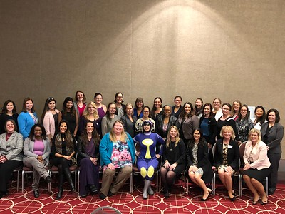 FY19 SWE Leadership:  Nano with SWE President, Board of Directors, and Senators, October 20, 2018