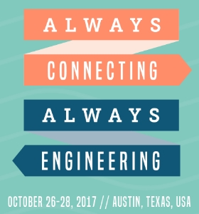 WE17 Conference October 26-28, 2017
