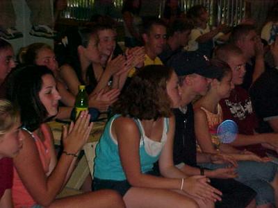 Point Sebago Resort Teen Show... July 13, 2000