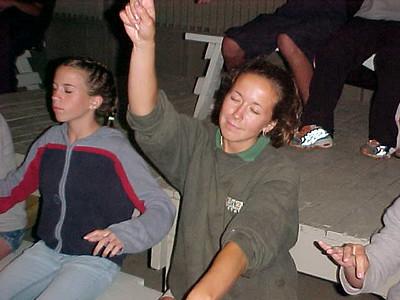 Point Sebago Resort Teen Show... July 27, 2000