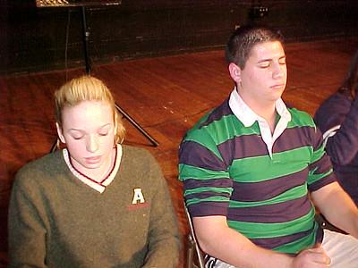 Cheshire High School... February 4, 2002