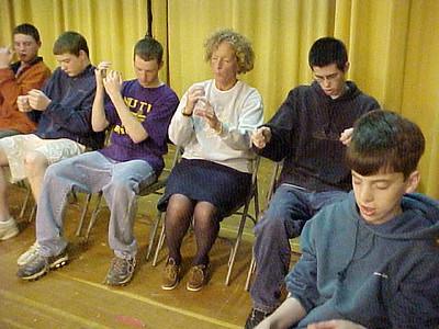 Nute High School... April 30,2002