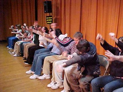 Walpole High School... March 21, 2002