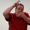 Steve Wronker performing magic