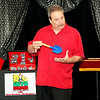 Another fun photo from a Steve Wronker's Funny Business family magic show.