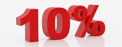 10 Days - 10% MARKDOWN SPECIAL