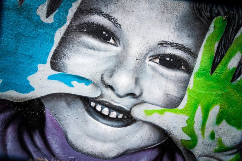 Street art festival Bishkek, Kyrgyzstan