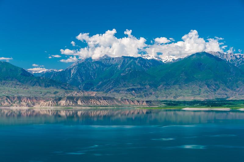 Lake Toktogal, Kyrgyzstan