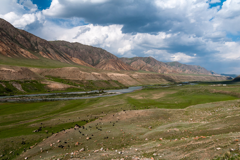 Heading east from Naryn