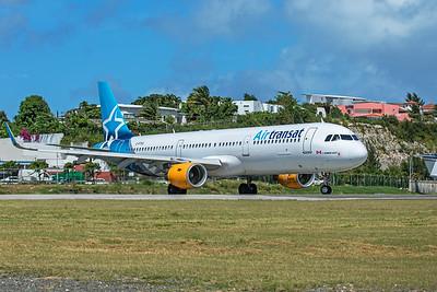 Air Transat Airbus A321-211 G-FTXU 2-15-20