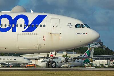 Air France Airbus A340-313 F-GLZP 2-15-20 5