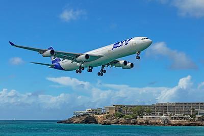Air France Airbus A340-313 F-GLZP 2-15-20 2