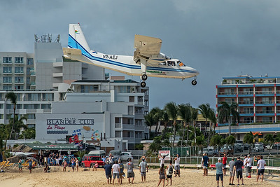 Trans Anguilla Airways Britten-Norman BN-2B-21 VP-AEJ  2-15-20