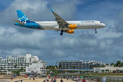Air Transat Airbus A321-211 G-FTXU 2-15-20 2
