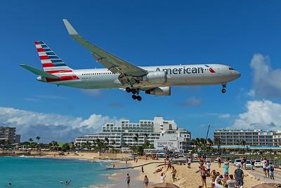 American Airlines Boeing 767-323(ER) N393AN 2-15-20