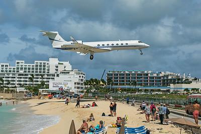 VISA USA Inc Gulfstream G550 N107VS 2-15-20