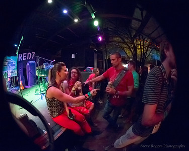 Cayucas performs at the Red 7 Patio - SXSW 2013