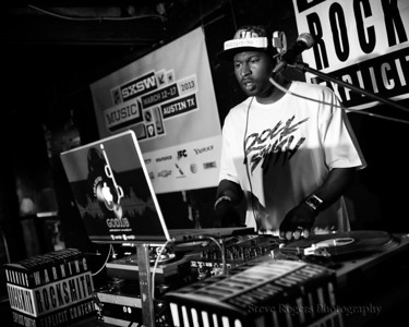 GO DJ JB performs at SXSW 2013