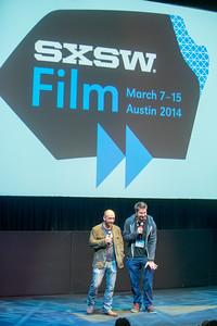 The Guest Film Q&A at SXSW 3/10/14