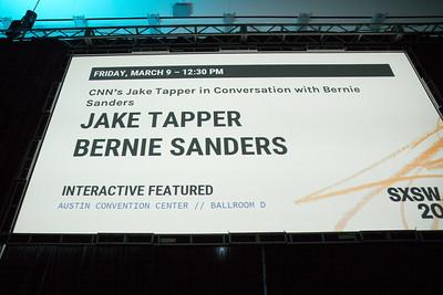 CNN's Jake Tapper in Conversation with Bernie Sanders