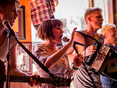 Skinny Lister at BD Riley's
