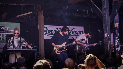 Shout Out Louds (Stockholm) at the Brooklyn vegan Day Party - SXSW2013